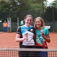 Clubmeisterin Paulina und Zweite Lotta.  Herzliche Glückwünsche!