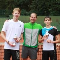 Clubmeister Dominic, Jugendwart Kay und Zweiter Jonas. Glückwünsche!!!