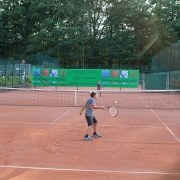 Oskar und Michail mit Ballvätern am 2. September