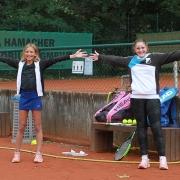 Lotta und Paulina wollten am 26. September das U15-Finale spielen.