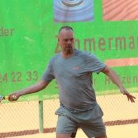 Endlich wieder Tennis: Martin auf dem Centercourt