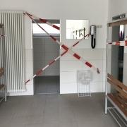 Duschen und Umziehen sind erst seit 31. Mai wieder erlaubt.