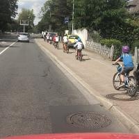 Rückkehr über Lustheide, Wald und Parkplatz