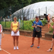 Gerda, Ulrike, Birgit und Sibylle