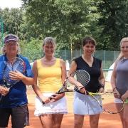 Birgit, Ulrike, Fariba und Andrea