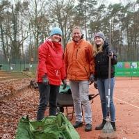 Hanne, Jürgen und Ruth.