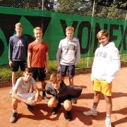 Die Junioren am 29.08.2020 beim TV Forsbach. 5:4 gewonnen!