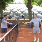 Dieses Foto von Sven und Martin erschien im KStA und in der BLZ am Mittwoch, 20. Mai 2020