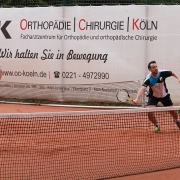 7. Juni 2020: erstes Medenspiel der Saison. Florian und Matthias