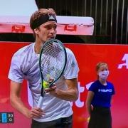 Nele beim Finale des ATP-Turniers in Köln am 18.10.2020