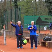 Peter und Bernd auf Platz 5