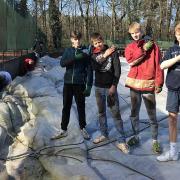 Jonas, Niklas, Dominic und Sean.