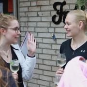 Karen und Celina