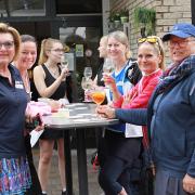 Ingrid, Susanne, Biggi, Angela und Monika