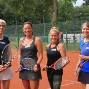 Moni, Susanne, Angela und Biggi
