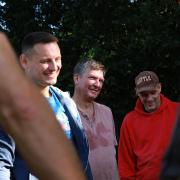 Vlad, Dietmar und Axel
