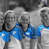 U15 Mädchen: Lotta, Marie, Paulina und Lale