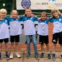 Die Kleinfeld-Mannschaft am 24. Juni 2021