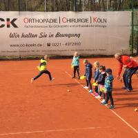 Training bei Markus im April 2021