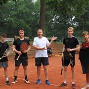 Das Finale gewannen (rechts) Dominic und Niklas. Herzliche Glückwünsche!!!