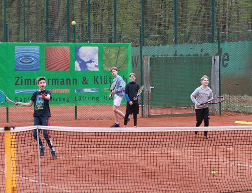Kein Test zum Tennisspielen erforderlich