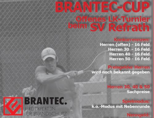 Einladung zum BRANTEC. Cup