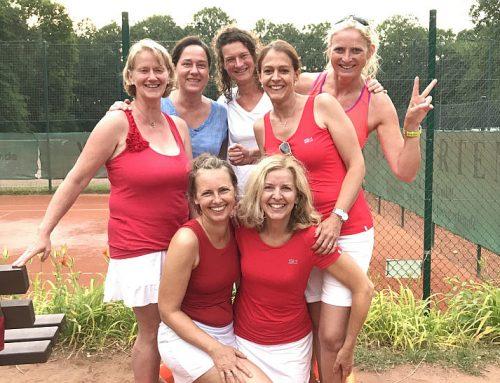 1. Sieg der Damen 40/2 in der 2. V