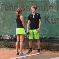 CM-Finalwochenende 2016: Stephanie und Tom nach dem Herren Finale.