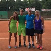 CM-Finalwochenende 2016: Das Mixed-Finale: Stephanie und Tom wurden Clubmeister gegen Frank und Nicole. Herzlichen Glückwunsch den SVR-Clubmeistern.