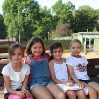 CM-Finalwochenende 2016: Joana, Mirja, Lina und Emma.