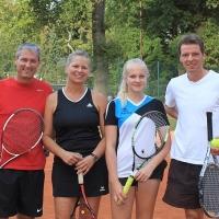CM-Finalwochenende 2016: Frank, Nicole, Annika und Udo.