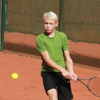 StM 2016 Jugend: Till (Tennisfreunde GW) wurde U14-Stadtmeister.