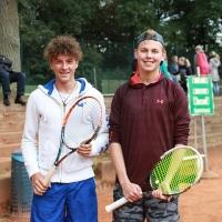 StM 2016 Jugend: U18 Halbfinale: Max gegen Frederick.