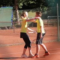 StM 2016 Jugend: Jolina und Jasper (TuS) freuen sich über den Finaleinzug.