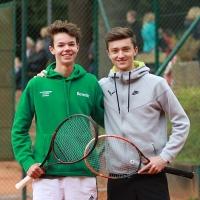 StM 2016 Jugend: U18-Halbfinale: Benedikt und Louis.