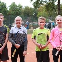 StM 2016 Jugend: U14 Mixed: Luis und Carlotta (SVR) gegen Jasper und Jolina (TuS Moitzfeld)