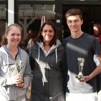 StM 2016 Jugend: U18-Mixed-Stadtmeister Anna und Louis (TC GG Bensberg)