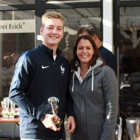 StM 2016 Jugend: U16-Stadtmeister Louis (TC GG Bensberg).