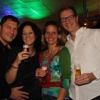 Winterfest 2016: Christian, Birgit, Jule und Michael