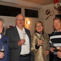 Winterfest 2016: Peter, Pieter, Ingrid, Bernd und Reinhard.