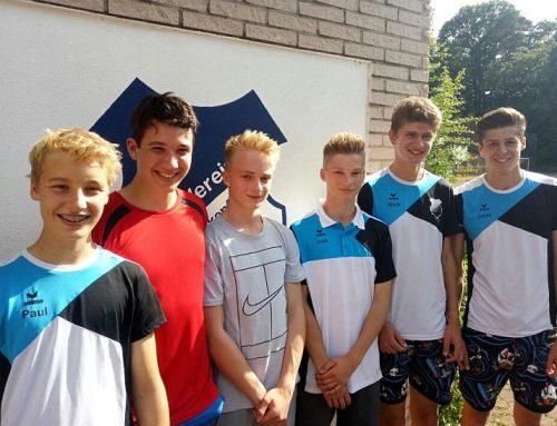 Aufstieg der 1. Junioren in die 2. Verbandsliga