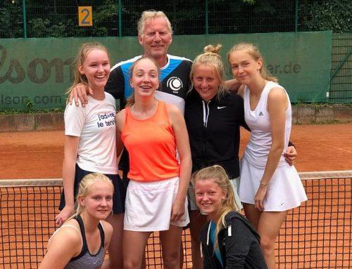 Aufstieg der 1. Juniorinnen in die 1. Verbandsliga
