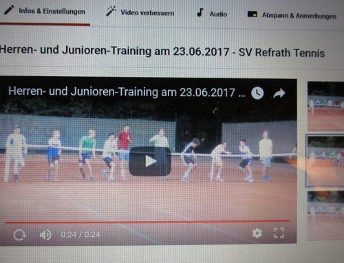 youtube-24-Sek.-Video: Herren- u. Juniorentraining