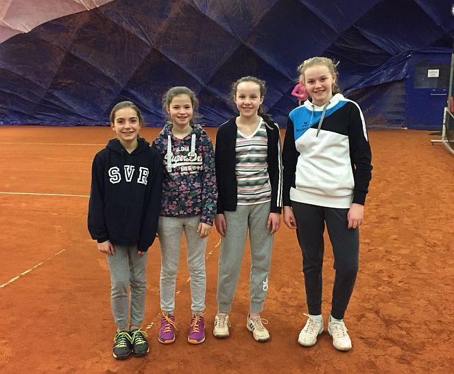 2. U14 Mädchen am 12.02.2017