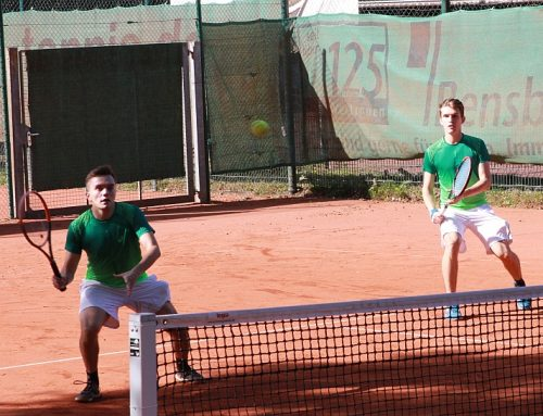Zwei Videos und 10 Fotos der Herren Doppel Halbfinals